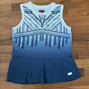 Girls 7 for all mankind Top